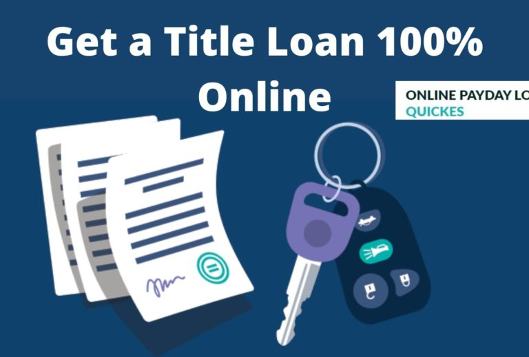 Completely Online Title Loans No Phone Calls
