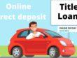 Title Loan online direct deposit